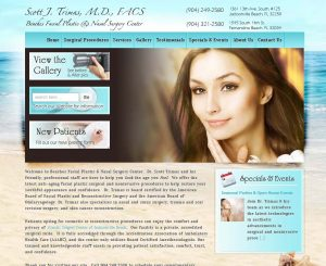 Beaches Facial Website
