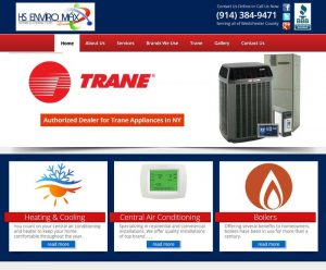 Air Conditioner & HVAC Website Rebuild & SEO
